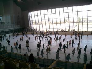笠松運動公園 スケート場