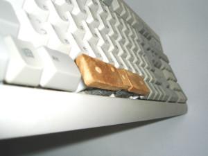 親指シフトキーボード Fujitsu 富士通 非純正 改造