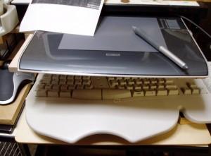 ペンタブレットとキーボードを同時に使う方法