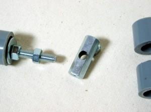M6の長ナットにM6の穴