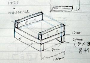 箱組みして、ステージを取り付ける