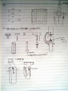 角材を利用した可動装置