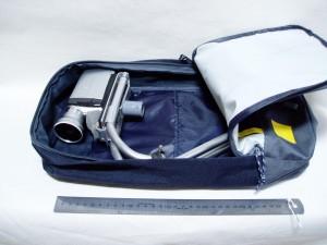 自作カメラ安定装置 キャリングバック