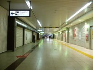 賑わいを失う水戸駅