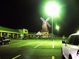 夜の那珂町