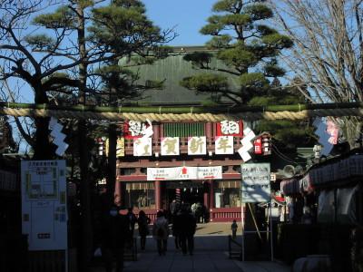 初詣は笠間神社