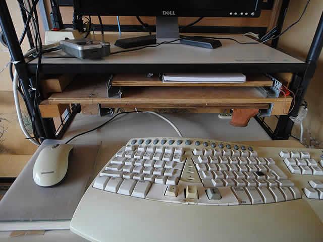 ふだんのキーボードテーブ