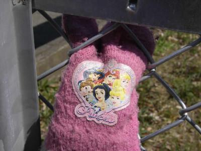 ディズニープリンセスの手袋