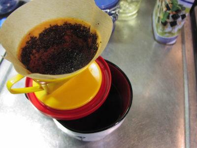 コーヒードリッパーの直径を拡大する